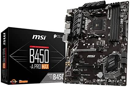 MSI AMD B450 Motherboard