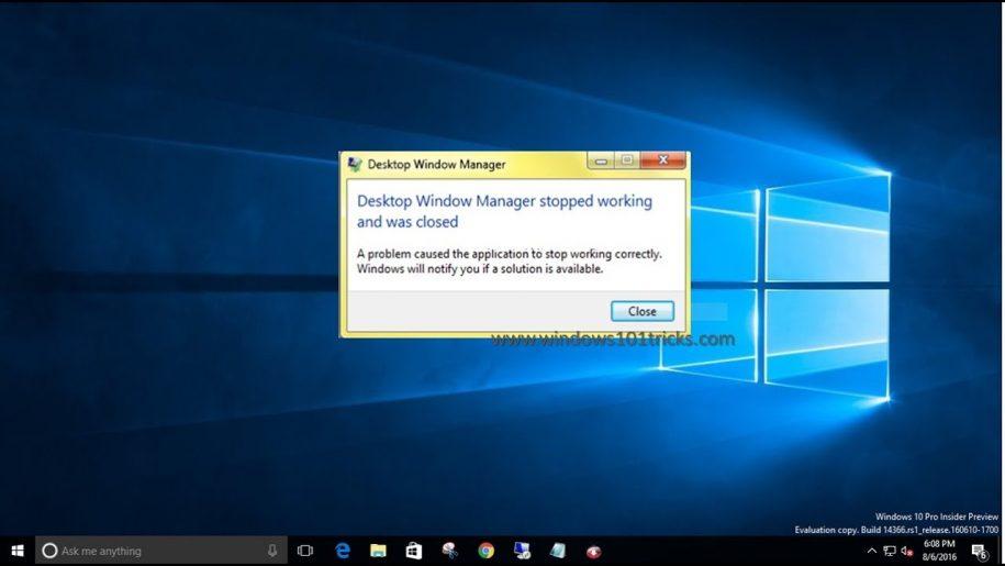 How to Fix Desktop Window Manager High CPU (DWM.exe)