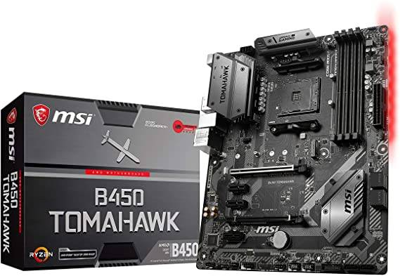 MSI B450 Tomahawk Best value motherboard for Ryzen 5 2600